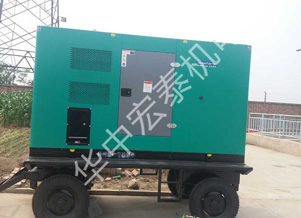 供给天津某镇政府防汛排涝野外移动电站